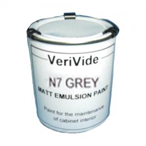Matt Emulsion Paint N7 Grey VeriVide
