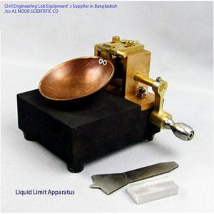 Soil Test Liquid Limit Apparatus