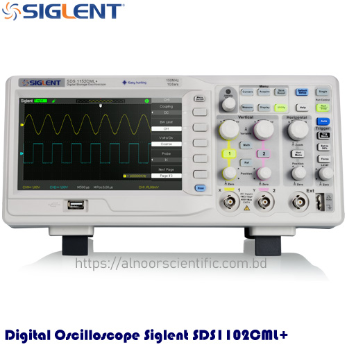Digital Oscilloscope Siglent SDS1102CML+ Price in Bangladesh