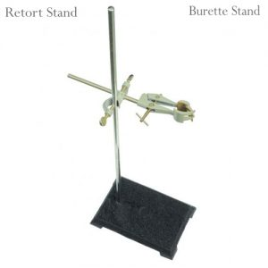 Burette Stand, Retort Stand With Ring Clamp