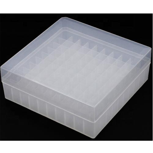 Plastic Cryovial Tube Box 100 well