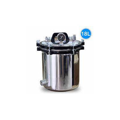 Portable Pressure Steam Sterilizer Autoclave 18L